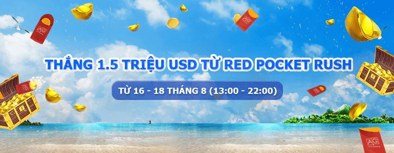 1.5 Triệu Đô cùng Red Pocket Rush trên Casino Trực Tuyến Vegas